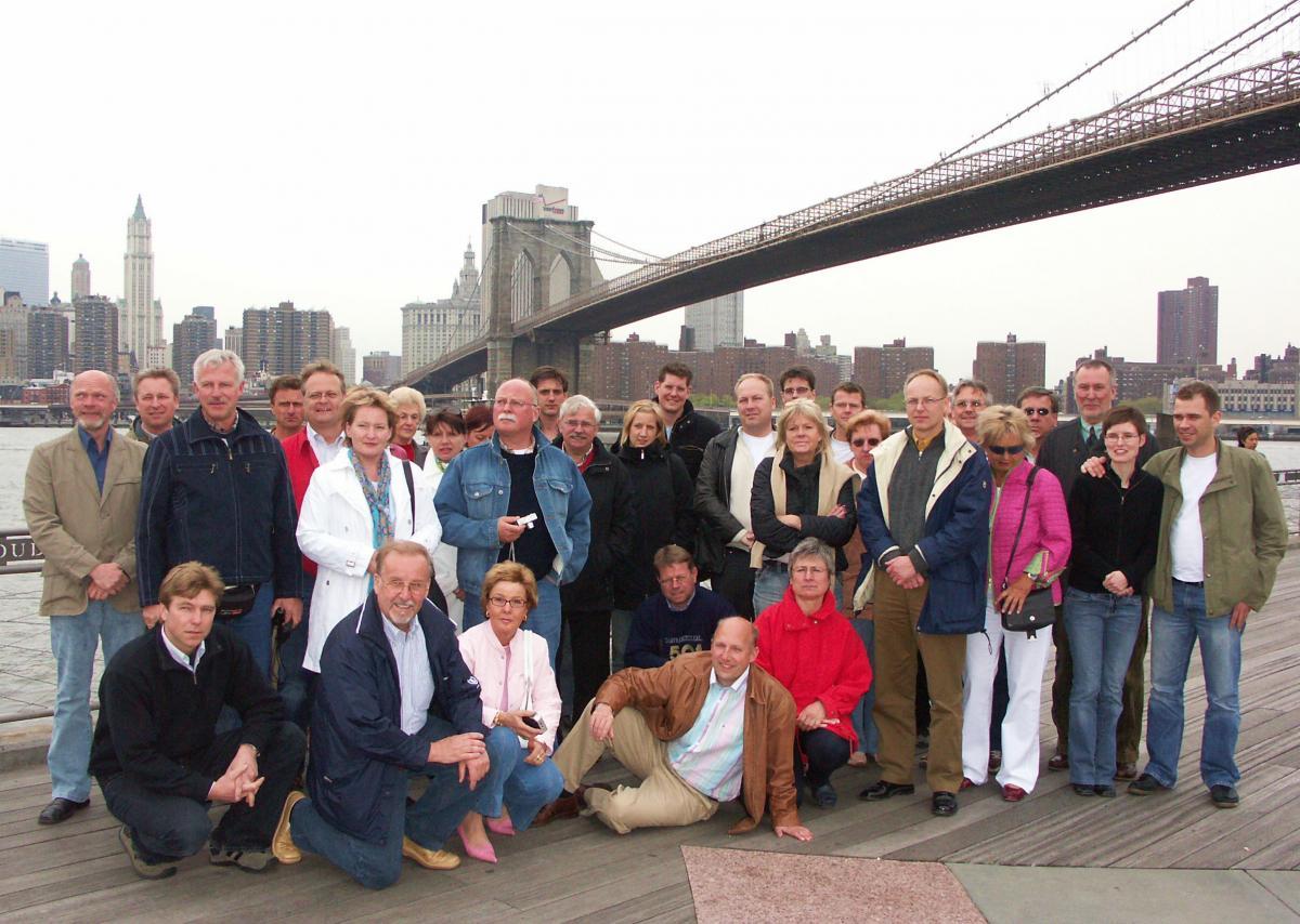 New York Gruppenfoto